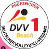 Beachvolleyball-Turniernetze DVV-1 geprüft