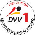 Volleyball-Turniernetze DVV-1 geprüft